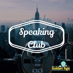 Speaking club this Thursday ;)